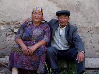 Old Couple in Kyrgyzstan. By Evgeni Zotov, Flickr.